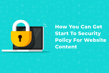 Security Policy For Website Content